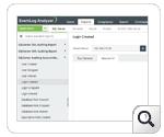 Report sulla gestione account del server MS SQL: gestione account