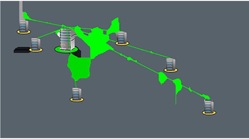 Gestisci da una singola posizione l'intera infrastruttura di rete distribuita in più ubicazioni geografiche.